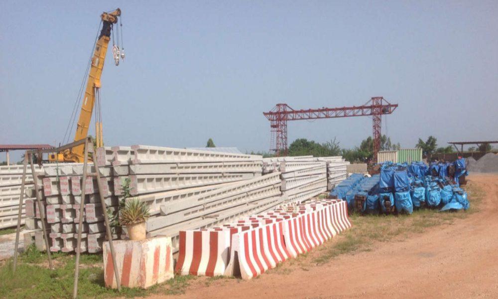 fabrication de poteaux en beton